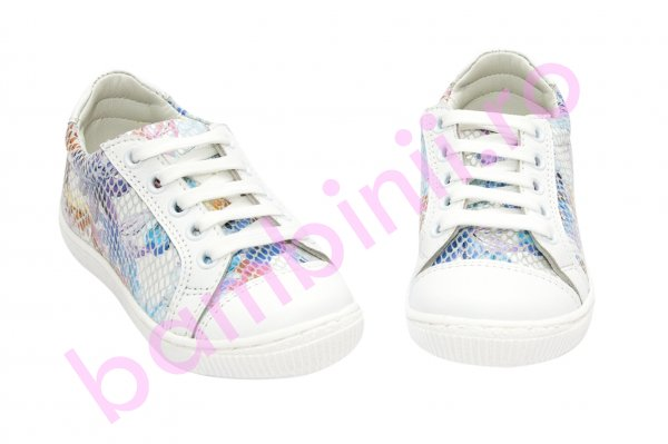 Pantofi sport fete hokide 387 alb color 26-35