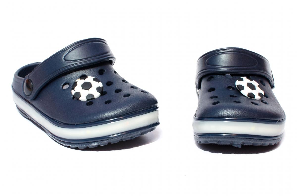 Papuci baieti cu leduri 1293 blu 22-29