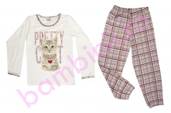 Pijamale fete 5644 bej