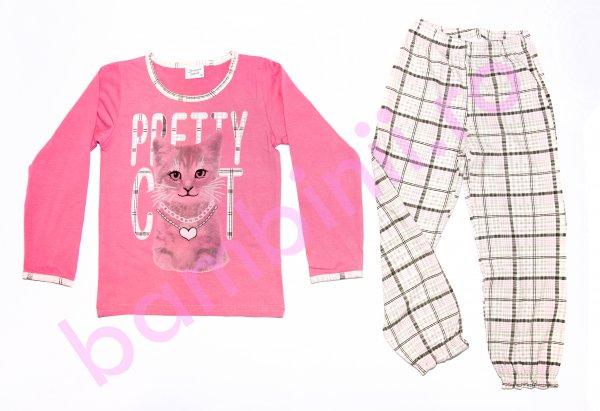 Pijamale fete 5644 roz