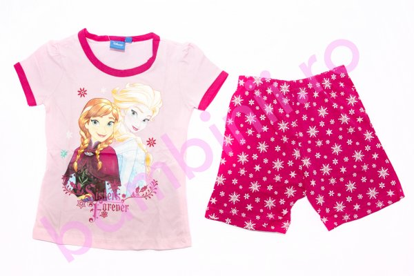 Pijamale fete Sisters Frozen 1979 roz 98-134