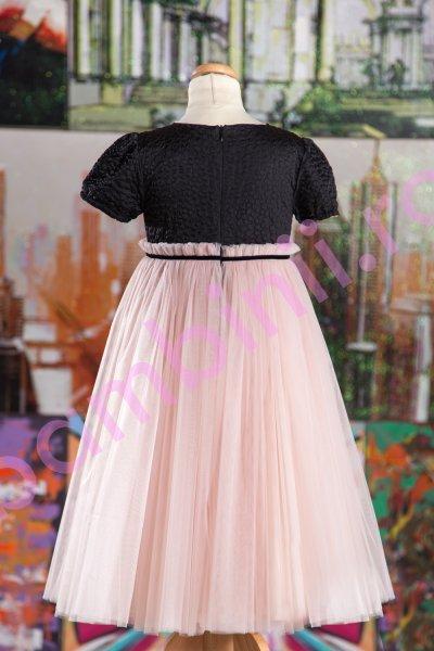 Rochii fete elegante Ballerina Powder Pink 127.02 roz