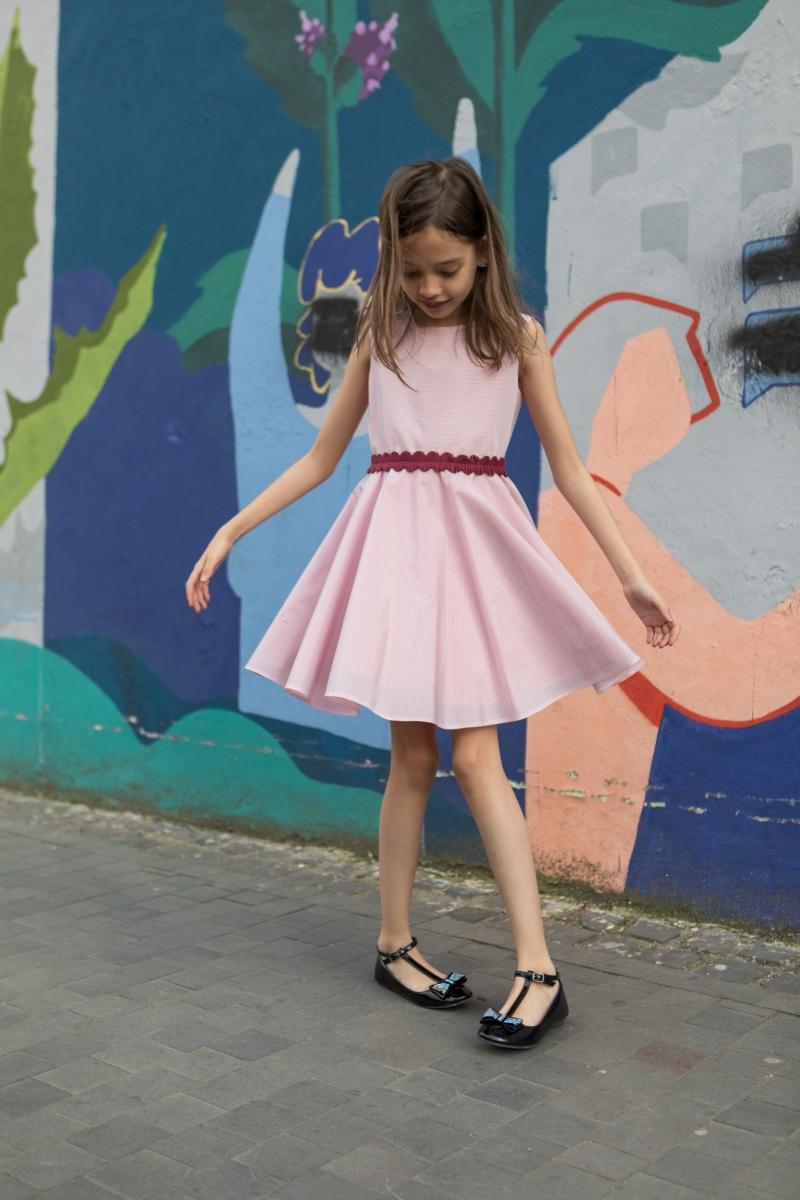 Rochii fete hey princess 02.02 roz 1-12 ani