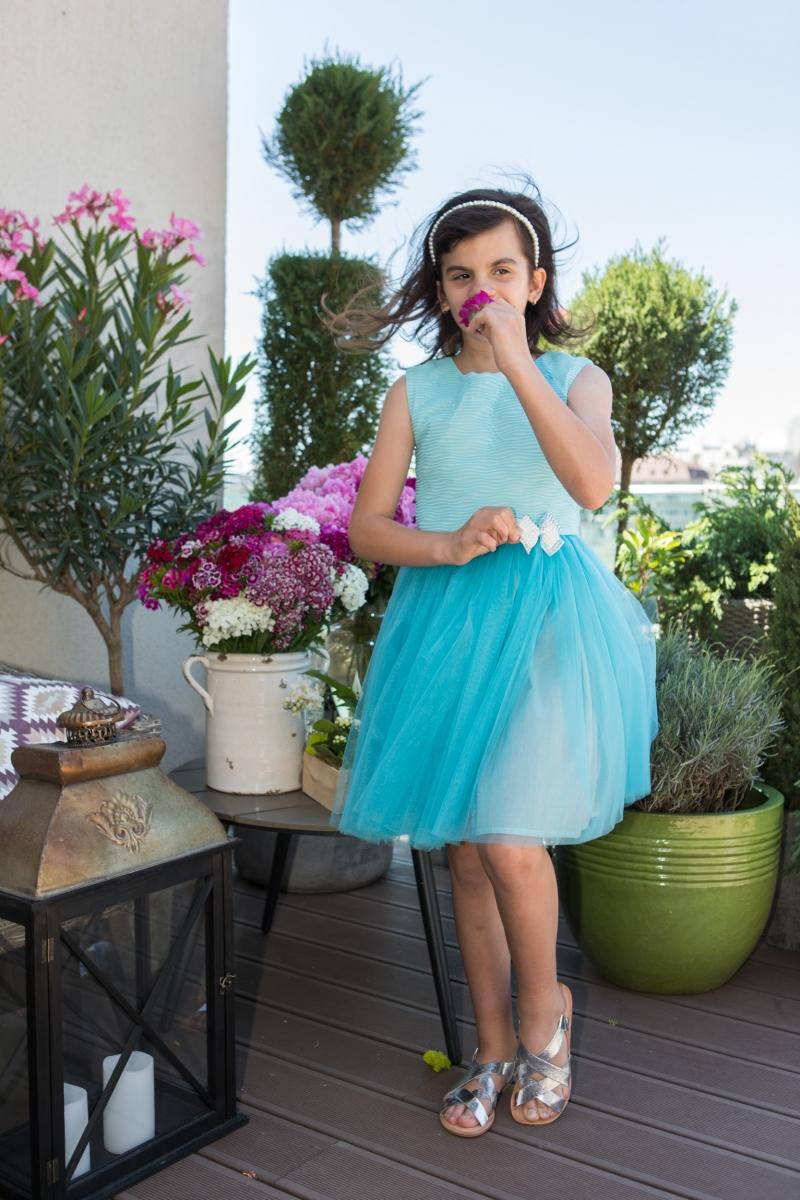 Rochii fete hey princess 111.202 albatru 3luni-12ani