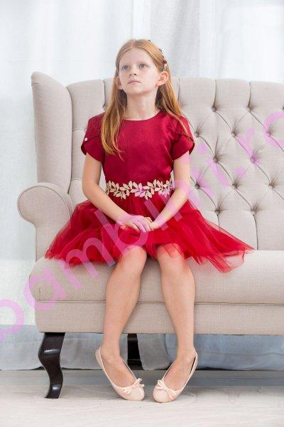 Rochii fete hey princess 111.21 rosu 3luni-12ani
