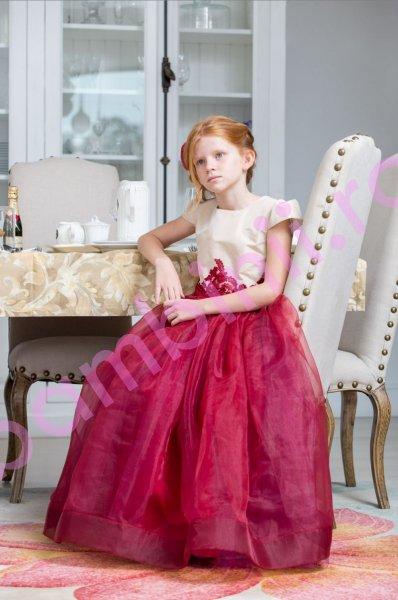 Rochii fete hey princess 196.01 rosu 3luni-12ani
