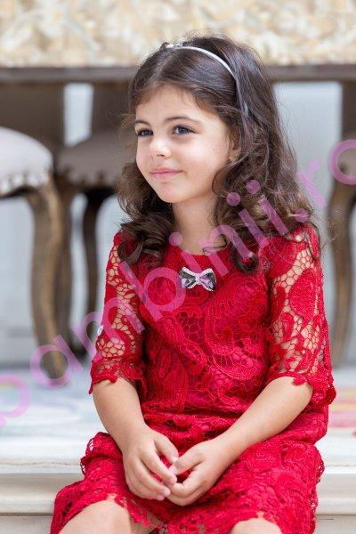 Rochii fete hey princess 197.01 rosu 3luni-12ani