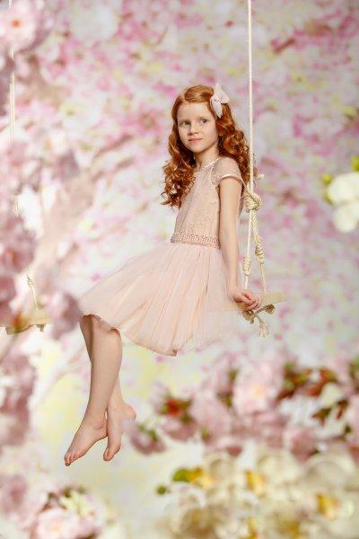Rochii fete hey princess Fresia 111.06 roz 3luni-12ani