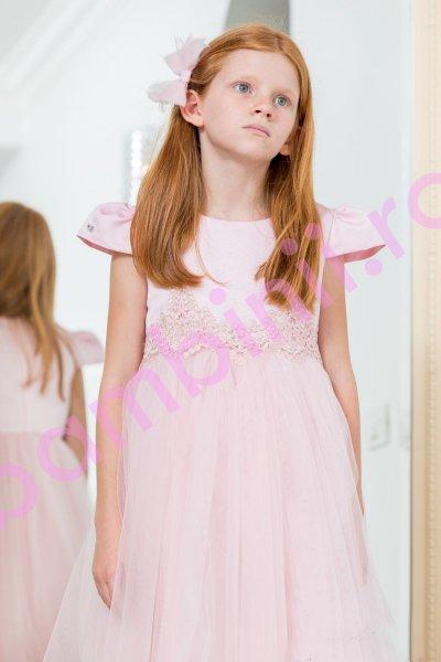 Rochita fete hey princess 166.22 roz 3luni-12ani