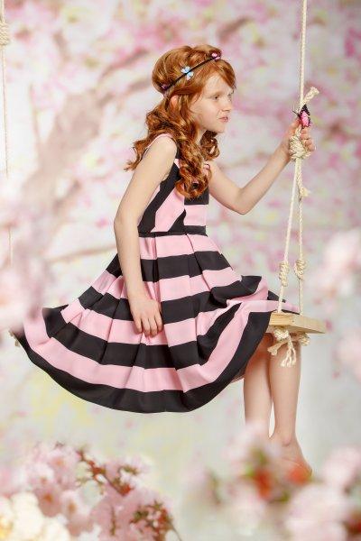Rochita fete hey princess Wild Tulip 117 roz 6-10ani