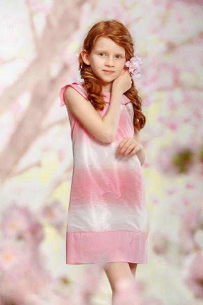 Rochite fete Pink Roses 01.19 roz 6-11ani