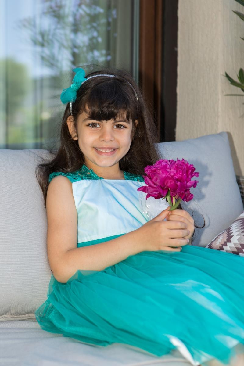 Rochite fete hey princess 111.20 turcoaz 3luni-12ani