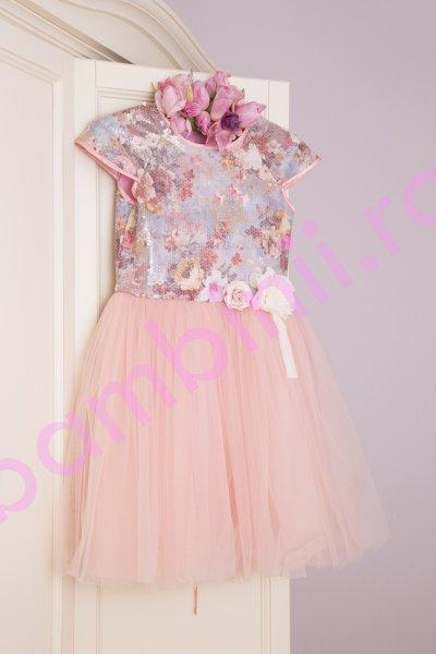 Rochite fete hey princess 111.30 roz 3luni-12ani