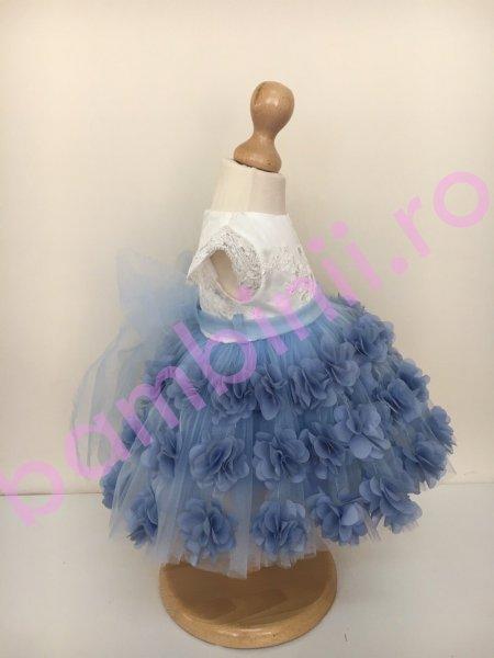 Rochite fetite botez colibri 1062 albastru 3luni-12ani