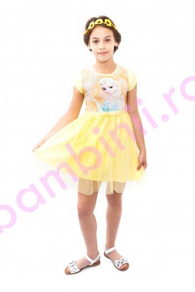 Rochite fetite breeze Elsa 8990 galben 104-134cm