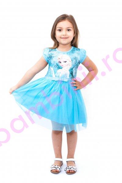 Rochite fetite breeze Elsa 8990 turcoaz 104-134cm
