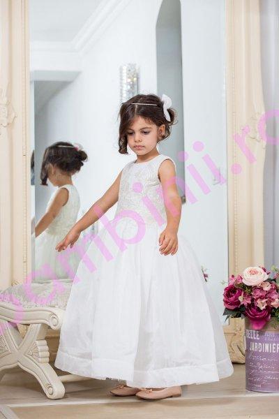 Rochite fetite elegante hey princess 196.03 alb 3luni-12ani