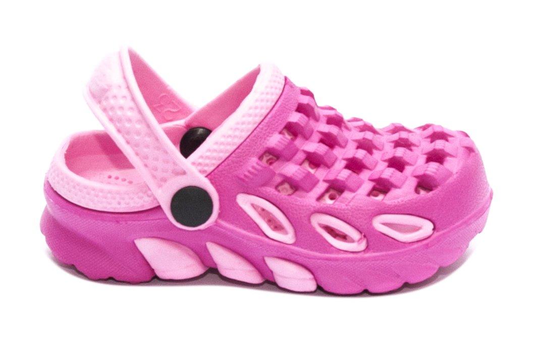Saboti crocsi fete 1033 roz fuxia 18-35
