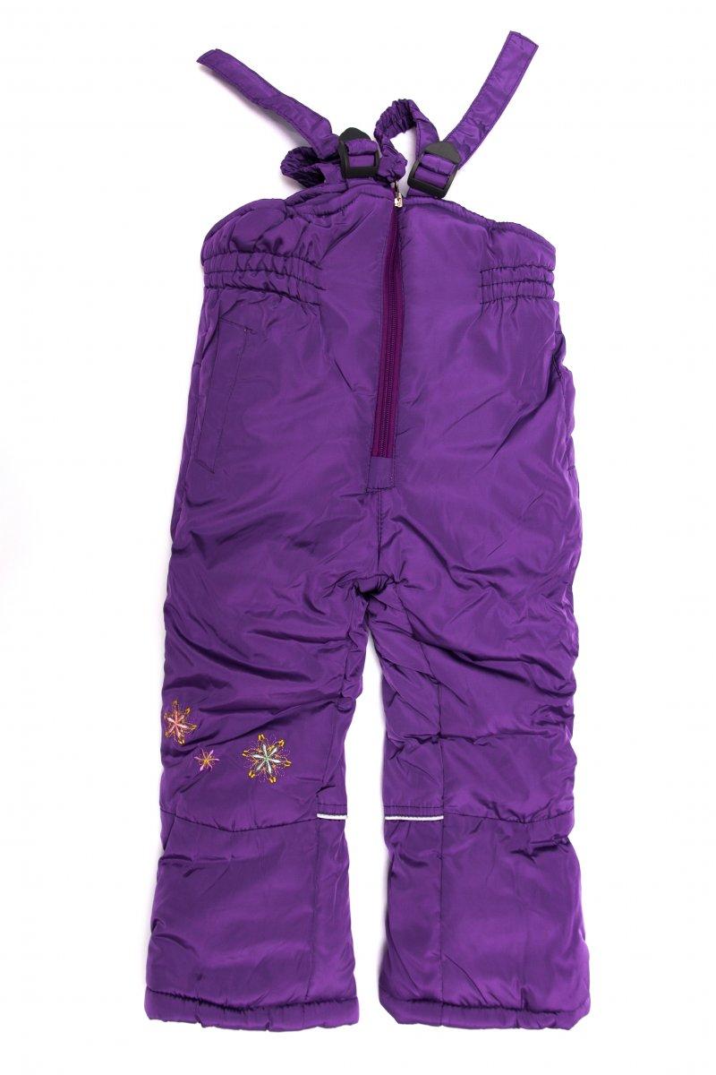 Salopete fete ski 8089 mov 70-98cm