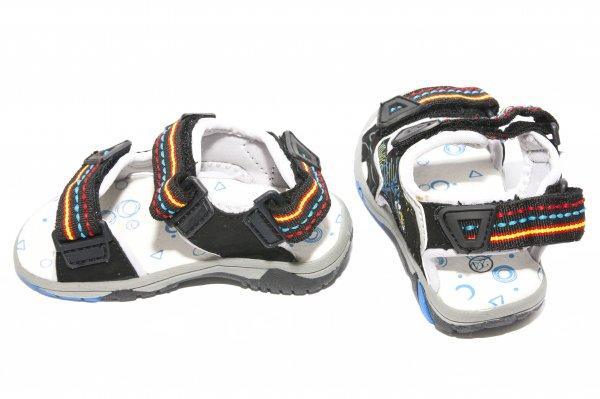 Sandale baieti 295 negru 24-29