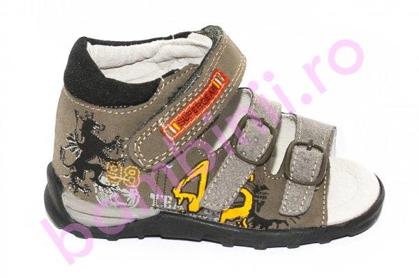 Sandale baieti 8735 kaki 22-27