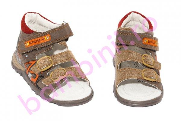Sandale baieti 8735 maro 22-27