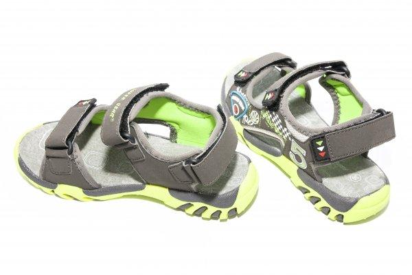Sandale baieti 9729 gri 30-35