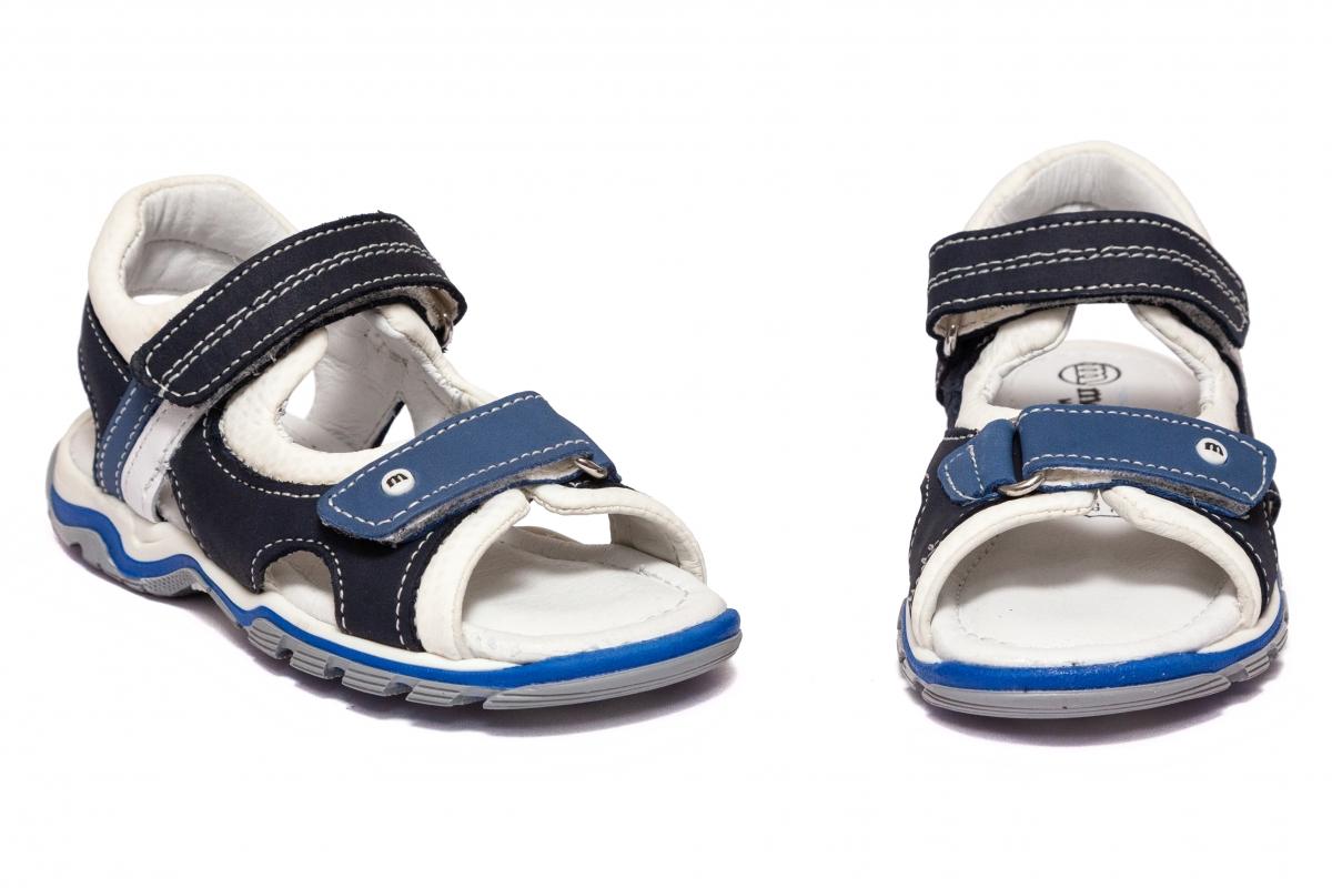 Sandale baieti Melania 4105 blu avio 26-38