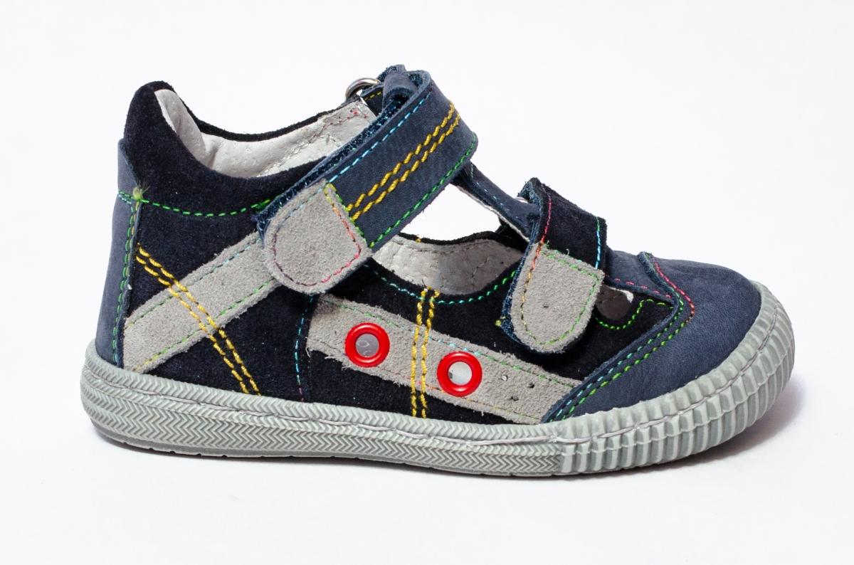 Sandale baieti flexibile hokide 386 blu 18-25