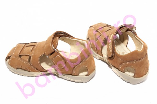 Sandale baieti hokide 109 bej maro 26-30