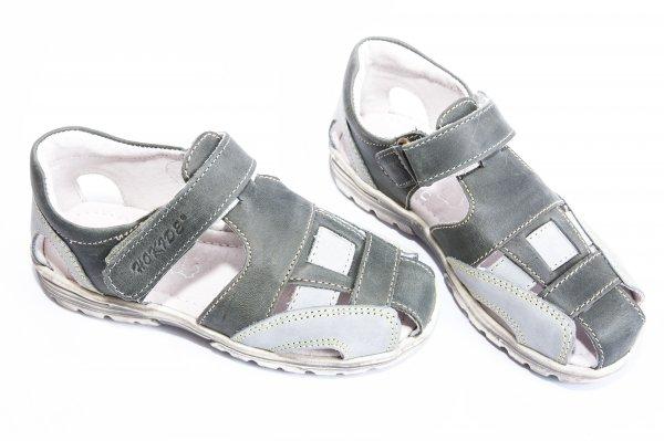 Sandale baieti hokide 109 blu gri 26-30