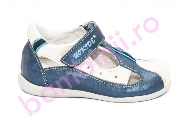 Sandale baieti hokide 139 blu alb 18-24
