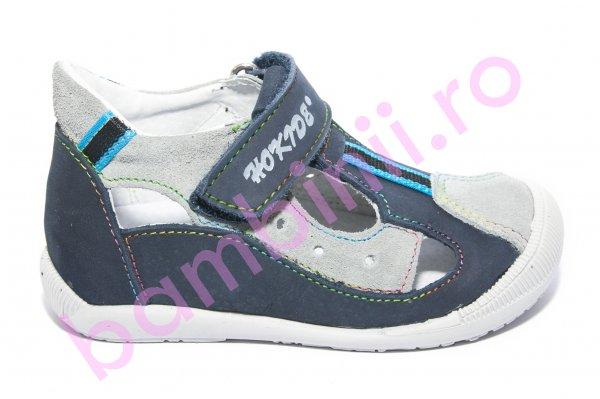 Sandale baieti hokide 139 blu gri 18-24
