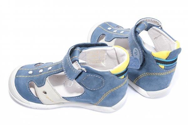 Sandale copii hokide 273 albastru galben 18-24