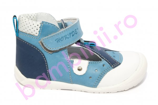 Sandale baieti hokide 305 albastru blu 18-24
