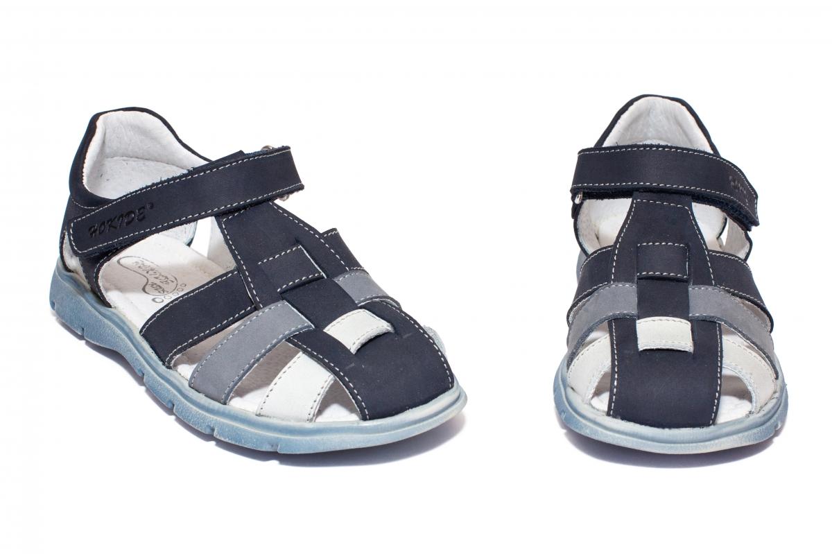 Sandale baieti hokide 425 blu alb 26-35