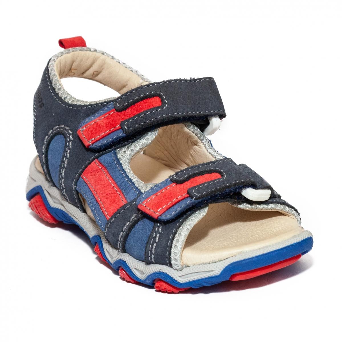 Sandale baieti piele Szamos 6285 bej 26-35