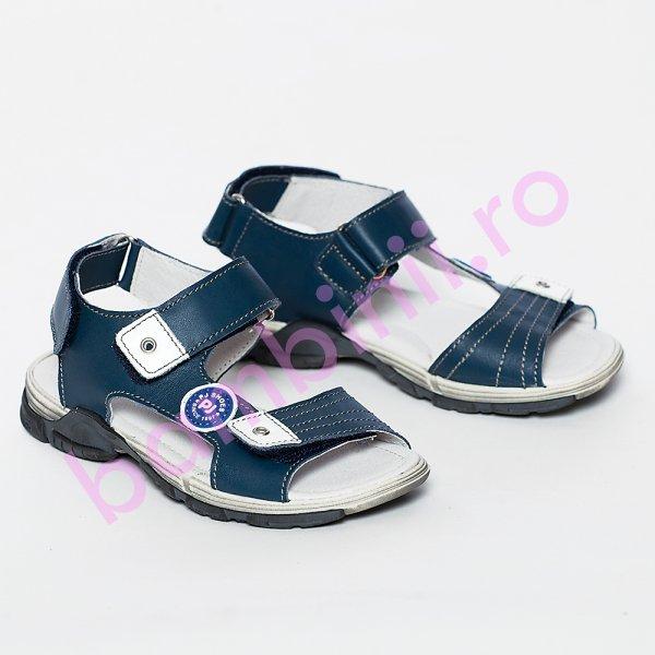 Sandale baieti pj shoes Roy albastru 27-36