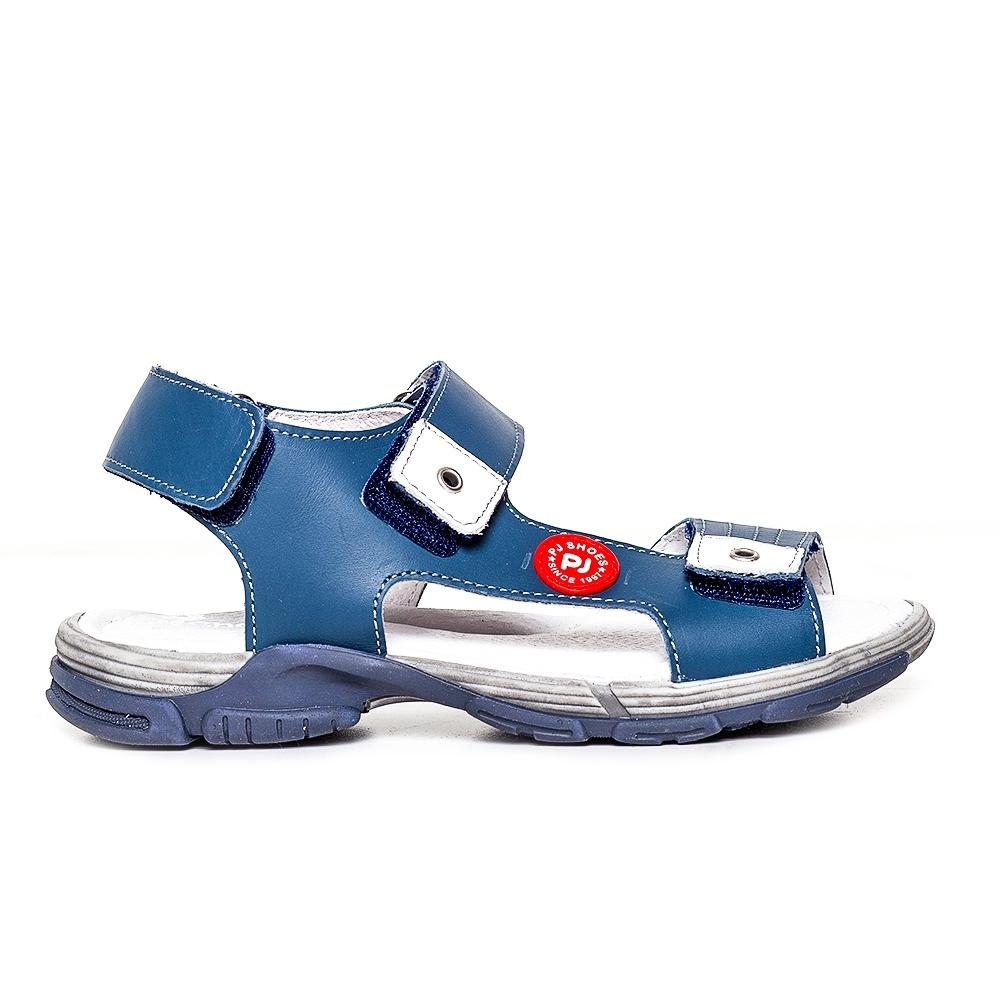 Sandale copii piele Pj Shoes Roy vernil 27-36