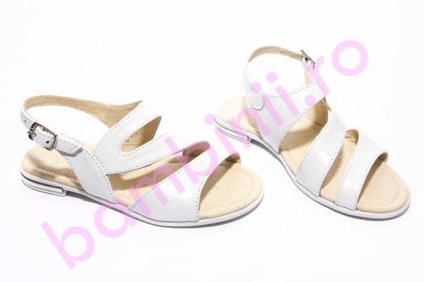 Sandale copii 1355 alb 26-36