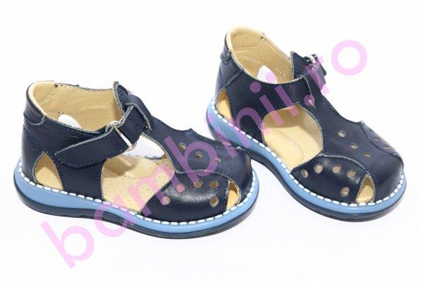 Sandale baieti 345 blu 18-25