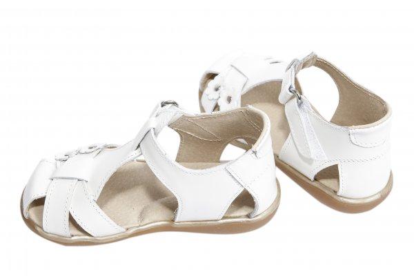 Sandale copii 346 alb unt 18-25