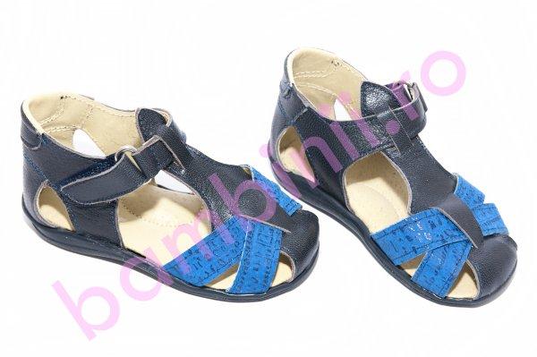 Sandale copii 346 blu+blue