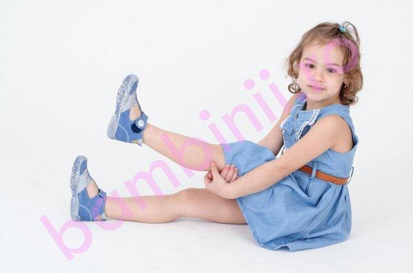 Sandale copii hokide 273 blu