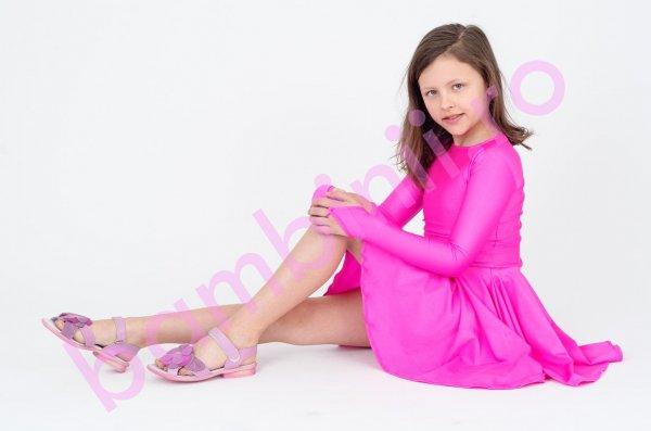 Sandale copii Pj Shoes Luisa mov
