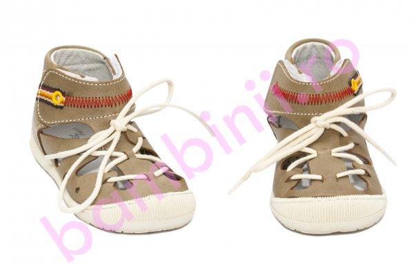 Sandale copii flexibile 211401 cafe 17-22