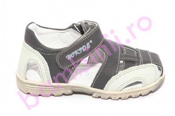 Sandale copii hokide 109 gri inchis 26-30