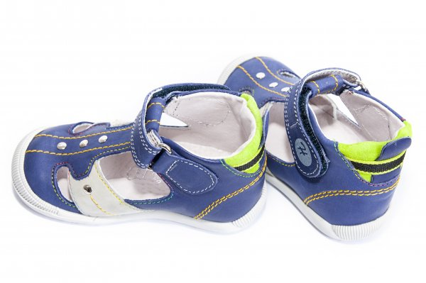 Sandale copii hokide 273 blu verde 18-24