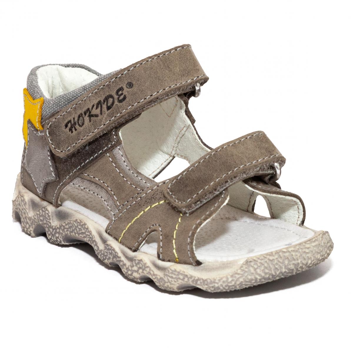 Sandale copii hokide 358 maro 20-35