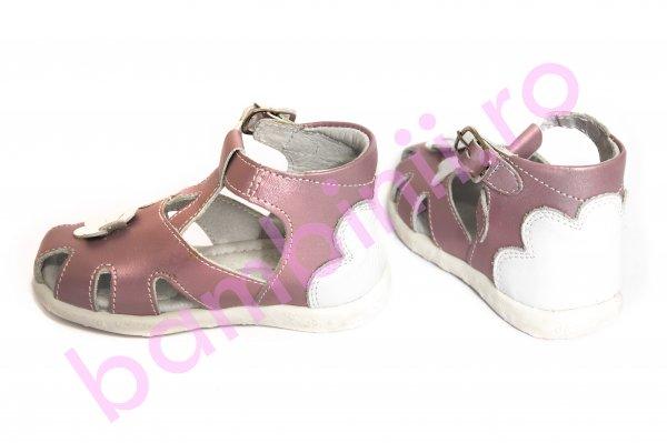 Sandale fete hokide 77 roz sidef